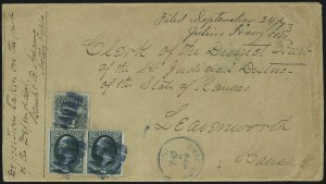 Sale Number 1054, Lot Number 629, Domestic Mail: 6c-24c12c Green (117), 12c Green (117)