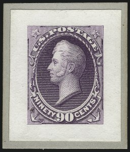 Sale Number 1057, Lot Number 531, Essays and Proofs (Bank Notes and Later Issues)1c-90c 1887-88 Bank Notes, Small Die Proofs on Wove (212P2-218P2), 1c-90c 1887-88 Bank Notes, Small Die Proofs on Wove (212P2-218P2)