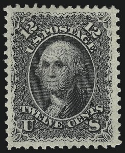 Sale Number 1057, Lot Number 624, 1861-66 Issue (Scott 56-78)12c Black (69), 12c Black (69)