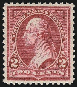 Sale Number 1057, Lot Number 868, 1897-1903 Change of Colors (Scott 279-284)2c Rose Carmine, Ty. IV (279Bc), 2c Rose Carmine, Ty. IV (279Bc)