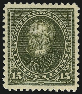 Sale Number 1057, Lot Number 872, 1897-1903 Change of Colors (Scott 279-284)15c Olive Green (284), 15c Olive Green (284)