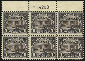 Sale Number 1060, Lot Number 3033, Canal ZoneCANAL ZONE, 1924, $1.00 Violet Brown, Ty. A Ovpt. (81), CANAL ZONE, 1924, $1.00 Violet Brown, Ty. A Ovpt. (81)