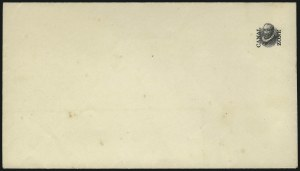 Sale Number 1060, Lot Number 3040, Canal ZoneCANAL ZONE, 1916, (2c) Carmine & Black entire, Head and Overprint Only (U2b), CANAL ZONE, 1916, (2c) Carmine & Black entire, Head and Overprint Only (U2b)