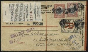 Sale Number 1060, Lot Number 3044, Canal ZoneCANAL ZONE, 1919, 10c on 5c Black & Red on Cream, Registration (UF1), CANAL ZONE, 1919, 10c on 5c Black & Red on Cream, Registration (UF1)
