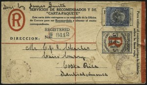 "Sale Number 1060, Lot Number 3046, Canal ZoneCANAL ZONE, 1919, 10c on 5c Black & Red on Cream, Registration, 9-1/4mm Between ""Canal"" and ""Zone"" (UF1a), CANAL ZONE, 1919, 10c on 5c Black & Red on Cream, Registration, 9-1/4mm Between ""Canal"" and ""Zone"" (UF1a)"