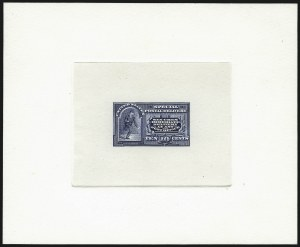 Sale Number 1061, Lot Number 3260, Essays and Proofs, 1870 to Back-of-Book10c Blue, Special Delivery Large Die Proof (E4P1), 10c Blue, Special Delivery Large Die Proof (E4P1)