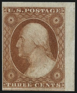 Sale Number 1061, Lot Number 3367, 1c-3c 1851-56 Issue (Scott 5A-11A)3c Orange Brown, Ty. II (10A), 3c Orange Brown, Ty. II (10A)