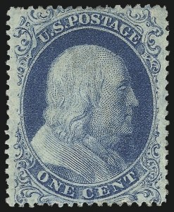 Sale Number 1061, Lot Number 3415, 1c 1857-60 Issue by Plate (Scott 18-24)1c Blue, Ty. I (18), 1c Blue, Ty. I (18)