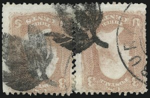 Sale Number 1061, Lot Number 3469, 1861-66 Issue (Scott 56-78)3c Rose (65), 3c Rose (65)