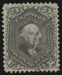 Sale Number 1061, Lot Number 3479, 1861-66 Issue (Scott 56-78)24c Red Lilac (70), 24c Red Lilac (70)