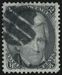 Sale Number 1061, Lot Number 3500, 1867-68 Grilled Issue (Scott 83-100)2c Black, F. Grill (93), 2c Black, F. Grill (93)