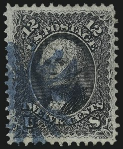 Sale Number 1061, Lot Number 3509, 1867-68 Grilled Issue (Scott 83-100)12c Black, F. Grill (97), 12c Black, F. Grill (97)