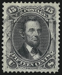 Sale Number 1061, Lot Number 3512, 1867-68 Grilled Issue (Scott 83-100)15c Black, F. Grill (98), 15c Black, F. Grill (98)
