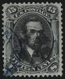 Sale Number 1061, Lot Number 3513, 1867-68 Grilled Issue (Scott 83-100)15c Black, F. Grill (98), 15c Black, F. Grill (98)
