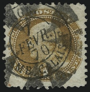 Sale Number 1061, Lot Number 3528, 1869 Pictorial Issue (Scott 112-122a)1c Buff (112), 1c Buff (112)