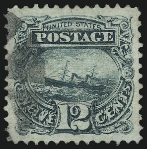 Sale Number 1061, Lot Number 3539, 1869 Pictorial Issue (Scott 112-122a)12c Green (117), 12c Green (117)