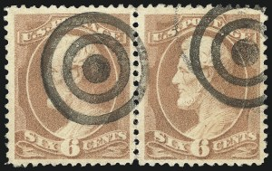 Sale Number 1061, Lot Number 3632, 1879-88 American Bank Note Co. Issue (Scott 182-218)6c Deep Brown Red (208a), 6c Deep Brown Red (208a)