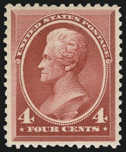 Sale Number 1061, Lot Number 3642, 1879-88 American Bank Note Co. Issue (Scott 182-218)4c Carmine (215), 4c Carmine (215)