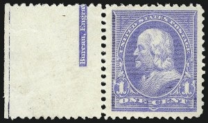 Sale Number 1061, Lot Number 3741, 1894-98 Bureau Issues (Scott 246-281)1c Ultramarine (246), 1c Ultramarine (246)