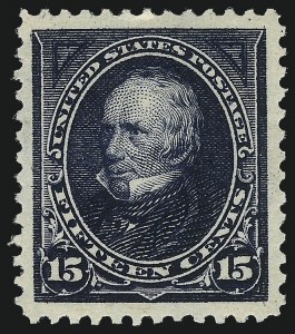 Sale Number 1061, Lot Number 3762, 1894-98 Bureau Issues (Scott 246-281)15c Dark Blue (274), 15c Dark Blue (274)
