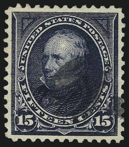 Sale Number 1061, Lot Number 3763, 1894-98 Bureau Issues (Scott 246-281)15c Dark Blue (274), 15c Dark Blue (274)