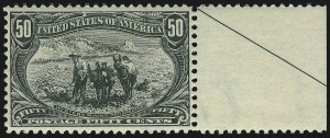 Sale Number 1061, Lot Number 3794, 1898 Trans-Mississippi Issue (Scott 286-293)50c Trans-Mississippi (291), 50c Trans-Mississippi (291)