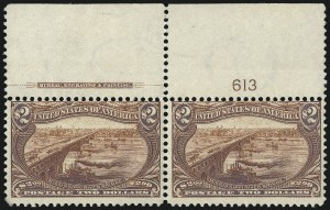 Sale Number 1061, Lot Number 3805, 1898 Trans-Mississippi Issue (Scott 286-293)$2.00 Trans-Mississippi (293), $2.00 Trans-Mississippi (293)