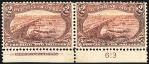 Sale Number 1061, Lot Number 3806, 1898 Trans-Mississippi Issue (Scott 286-293)$2.00 Trans-Mississippi (293), $2.00 Trans-Mississippi (293)