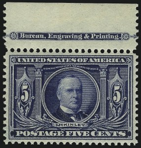 Sale Number 1061, Lot Number 3843, 1902-08 Issues, 1904 and 1907 Commemoratives (Scott 300-330)5c Louisiana Purchase (326), 5c Louisiana Purchase (326)