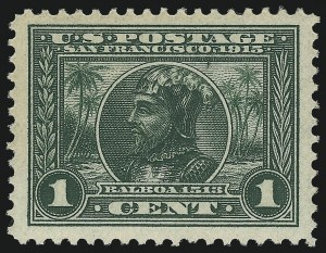 Sale Number 1061, Lot Number 3884, 1913-15 Panama-Pacific Issue (Scott 397-404)1c Panama-Pacific (397), 1c Panama-Pacific (397)