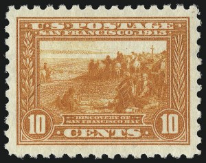 Sale Number 1061, Lot Number 3897, 1913-15 Panama-Pacific Issue (Scott 397-404)10c Panama-Pacific, Perf 10 (404), 10c Panama-Pacific, Perf 10 (404)
