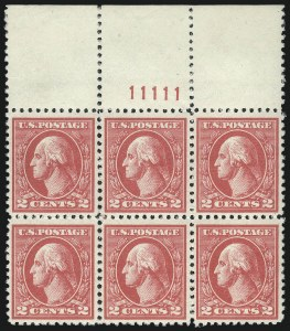 Sale Number 1061, Lot Number 3988, 1917-22 Issues (Scott 519-573)2c Carmine, Ty. V (527), 2c Carmine, Ty. V (527)
