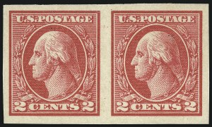 Sale Number 1061, Lot Number 3989, 1917-22 Issues (Scott 519-573)2c Carmine, Ty. V, Imperforate (533), 2c Carmine, Ty. V, Imperforate (533)