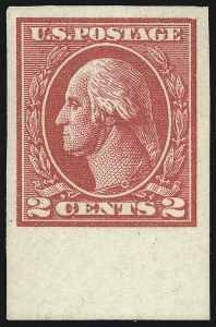 Sale Number 1061, Lot Number 3990, 1917-22 Issues (Scott 519-573)2c Carmine, Ty. VII, Imperforate (534B), 2c Carmine, Ty. VII, Imperforate (534B)