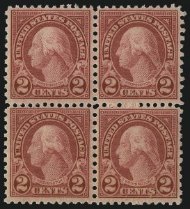 Sale Number 1061, Lot Number 4018, 1923 and Later Issues (Scott 575-1688)1c Green, 2c Carmine, Rotary (578-579), 1c Green, 2c Carmine, Rotary (578-579)