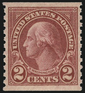 Sale Number 1061, Lot Number 4022, 1923 and Later Issues (Scott 575-1688)2c Carmine, Ty. II, Coil (599A), 2c Carmine, Ty. II, Coil (599A)
