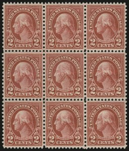 "Sale Number 1061, Lot Number 4029, 1923 and Later Issues (Scott 575-1688)2c Carmine, Ty. I, ""Long Ear"" Recut (634 var), 2c Carmine, Ty. I, ""Long Ear"" Recut (634 var)"