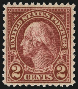 Sale Number 1061, Lot Number 4030, 1923 and Later Issues (Scott 575-1688)2c Carmine, Ty. II (634A), 2c Carmine, Ty. II (634A)