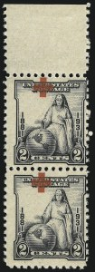 Sale Number 1061, Lot Number 4037, 1923 and Later Issues (Scott 575-1688)2c Red Cross (702), 2c Red Cross (702)
