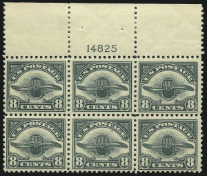 Sale Number 1061, Lot Number 4050, Air Post8c Dark Green, 1923 Air Post (C4), 8c Dark Green, 1923 Air Post (C4)