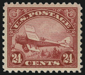 Sale Number 1061, Lot Number 4051, Air Post24c Carmine, 1923 Air Post (C6), 24c Carmine, 1923 Air Post (C6)
