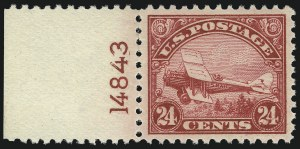 Sale Number 1061, Lot Number 4052, Air Post24c Carmine, 1923 Air Post (C6), 24c Carmine, 1923 Air Post (C6)