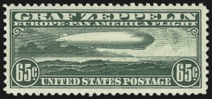 Sale Number 1061, Lot Number 4064, Air Post65c Graf Zeppelin (C13), 65c Graf Zeppelin (C13)