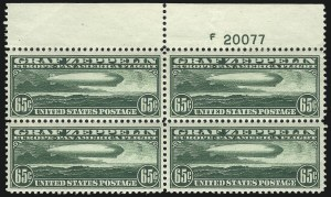 Sale Number 1061, Lot Number 4066, Air Post65c Graf Zeppelin (C13), 65c Graf Zeppelin (C13)