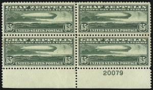 Sale Number 1061, Lot Number 4067, Air Post65c Graf Zeppelin (C13), 65c Graf Zeppelin (C13)