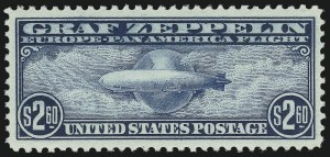Sale Number 1061, Lot Number 4071, Air Post$2.60 Graf Zeppelin (C15), $2.60 Graf Zeppelin (C15)