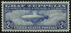 Sale Number 1061, Lot Number 4073, Air Post$2.60 Graf Zeppelin (C15), $2.60 Graf Zeppelin (C15)