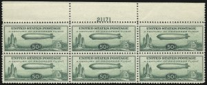 Sale Number 1061, Lot Number 4079, Air Post50c Chicago Zeppelin (C18), 50c Chicago Zeppelin (C18)