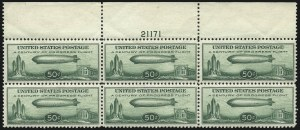 Sale Number 1061, Lot Number 4081, Air Post50c Chicago Zeppelin (C18), 50c Chicago Zeppelin (C18)