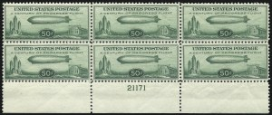 Sale Number 1061, Lot Number 4083, Air Post50c Chicago Zeppelin (C18), 50c Chicago Zeppelin (C18)